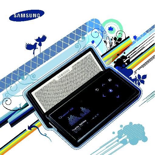 Samsung YP-K5JAB User Manual (ver.1.0)
