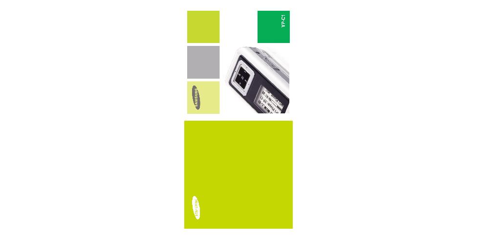 Samsung YP-C1X User Manual (ver.1.0)
